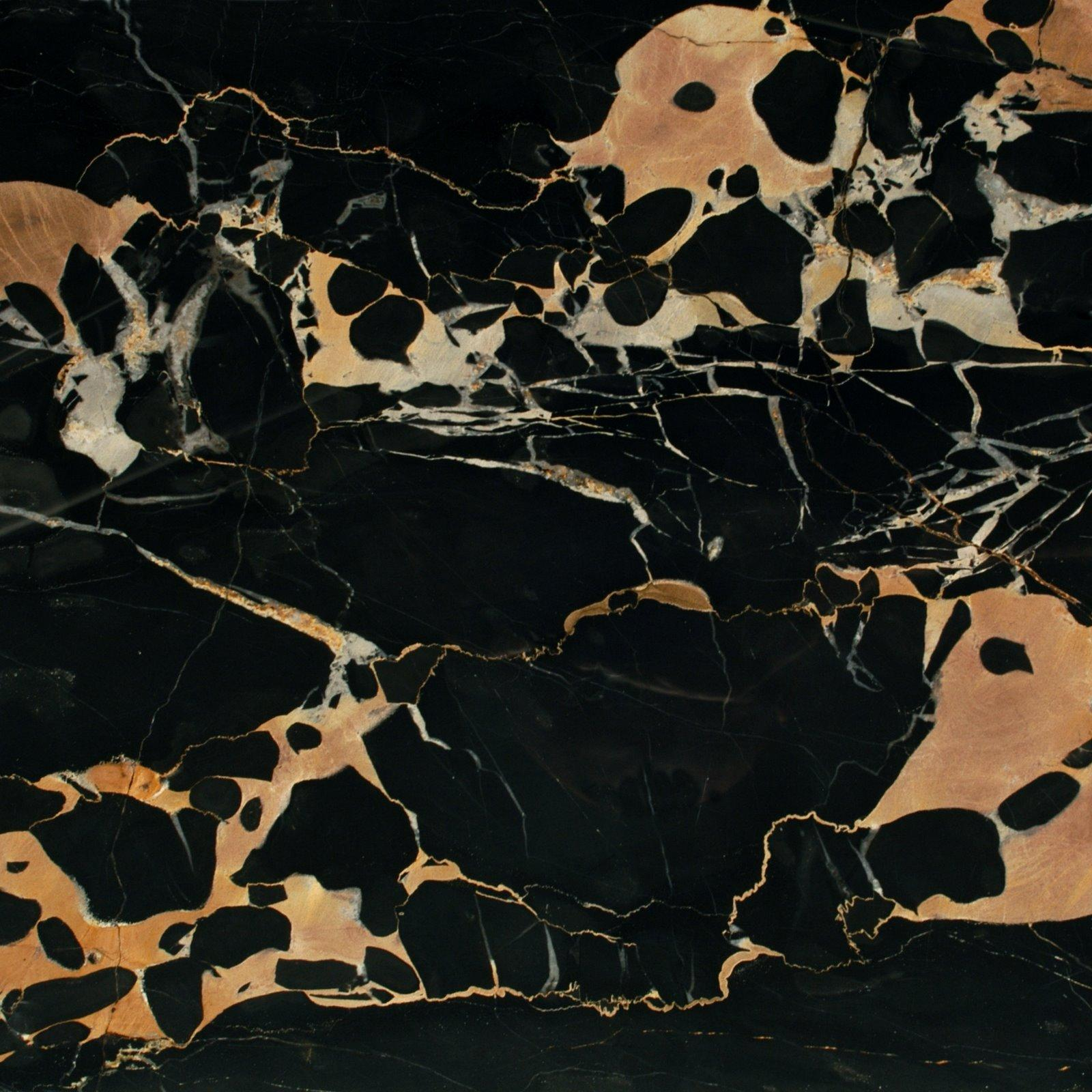 Portoro extra marble tiles slabs and countertops black for Marmol negro veteado